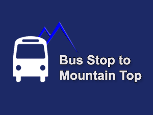 Bus Stop to Mountain Top